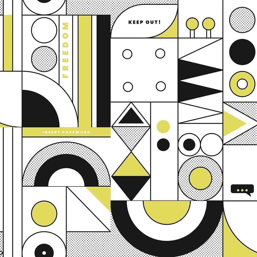 Papel de Parede Play Geométrico 99502 - Rolo: 10m x 0,53m