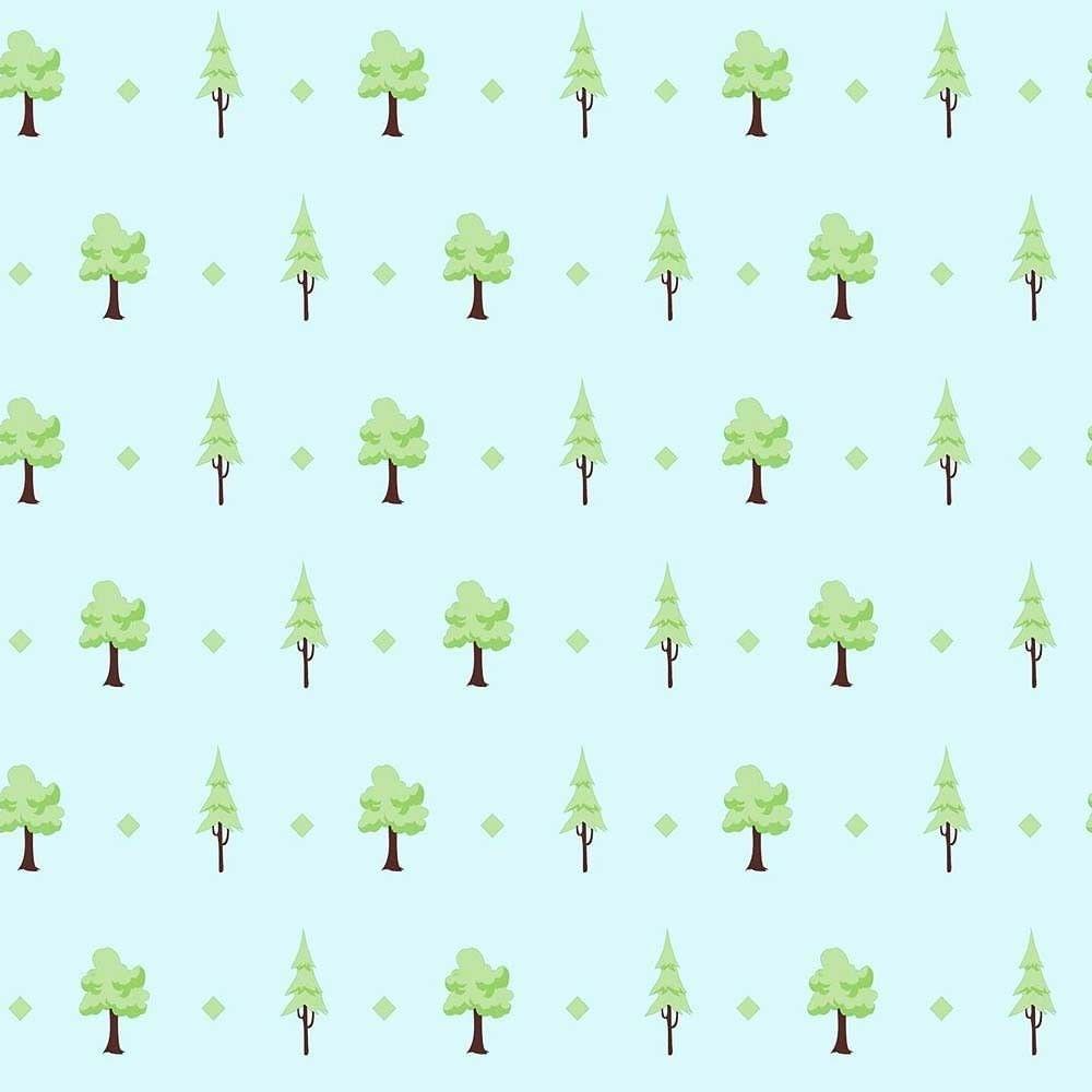 Papel de Parede Play Árvores 97814 - Rolo: 10m x 0,53m