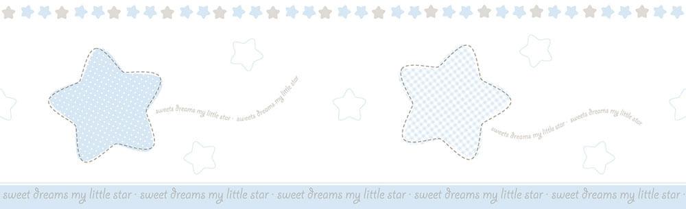 Faixa de Parede Lullaby 2441 - Tam 5m x 16cm (C x A)
