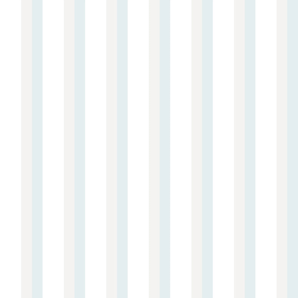 Papel de Parede Lullaby Listrado Azul Claro 2314 - Rolo: 10m x 0,53m