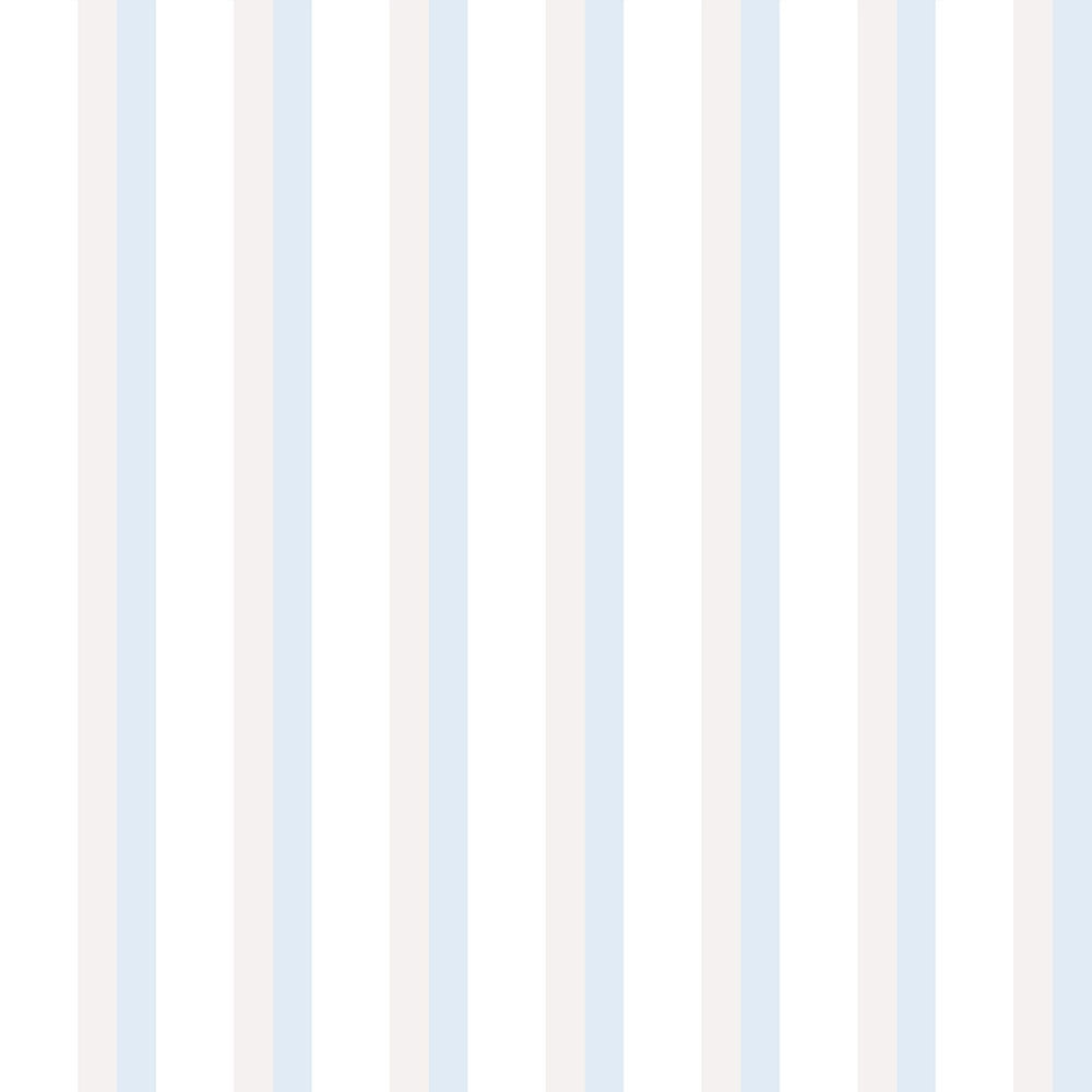 Papel de Parede Lullaby Listrado Azul 2311 - Rolo: 10m x 0,53m