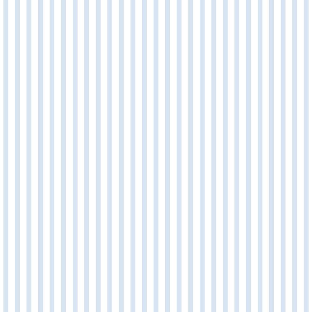 Papel de Parede Lullaby Listras Finas Azul 2301 - Rolo: 10m x 0,53m