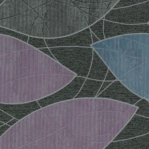 Papel Parede Urban Chic Folhas Coloridas 656720 - Rolo: 10m x 0,53m