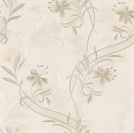 Papel de Parede Regent Flores Rococó Z6751 - Rolo: 10m x 0,53m