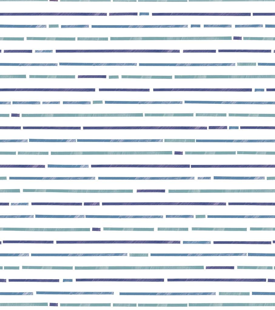 Papel de Parede Coleção Brincar Listras 3635 - Rolo: 10m x 0,52m