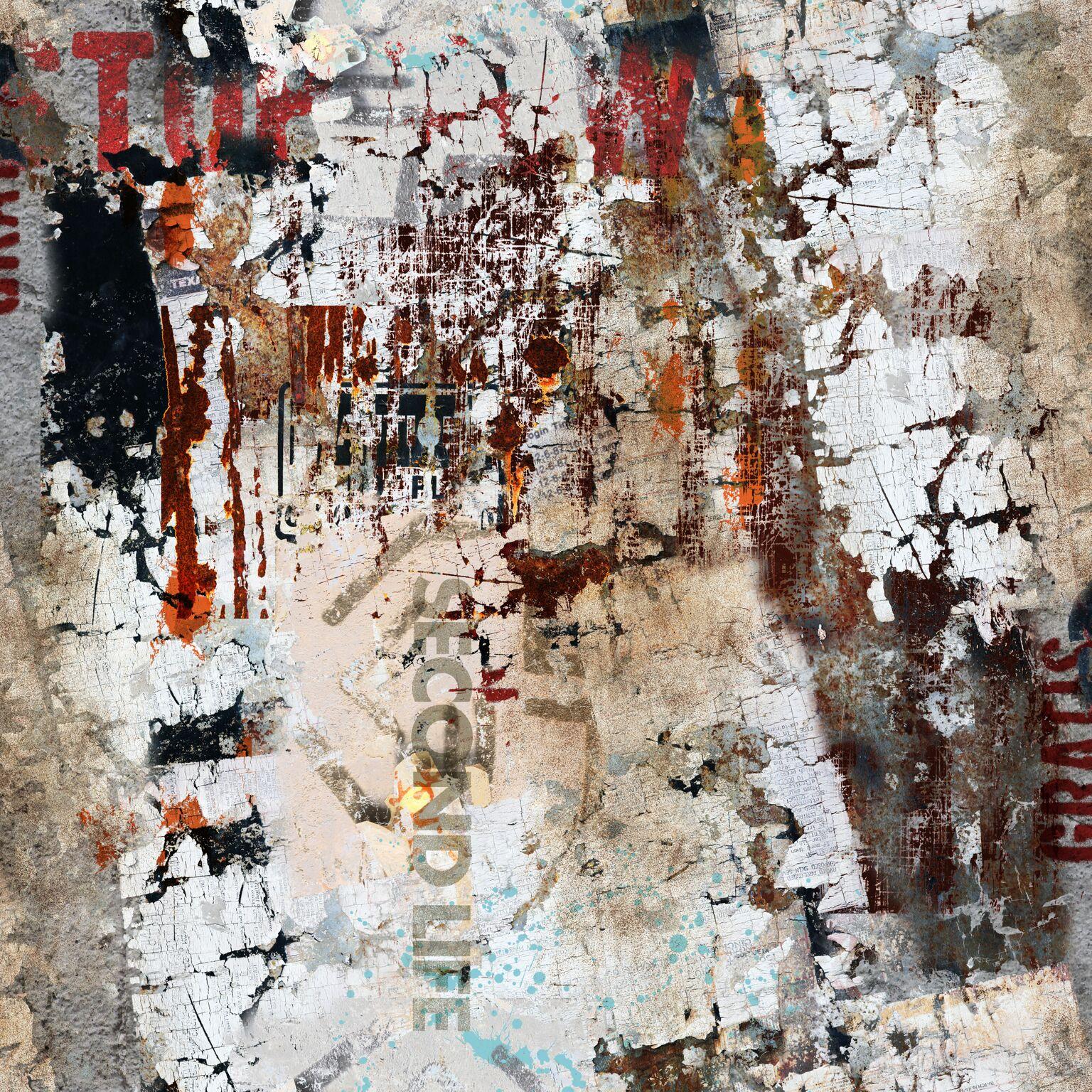 Papel de Parede Coleção Brincar Muro 3647 - Rolo: 10m x 0,52m