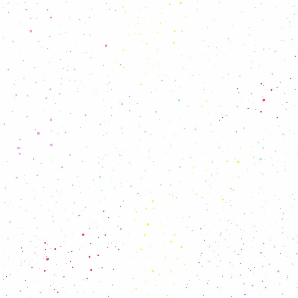Papel de Parede Coleção Brincar Poá 3608 - Rolo: 10m x 0,52m