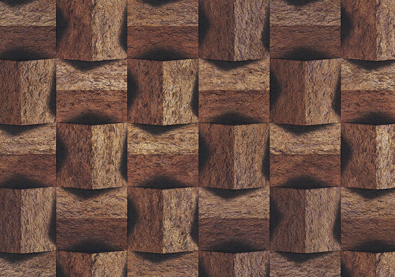 Papel de Parede Terra Gracia Cork Stone (Tan Brown) 831123
