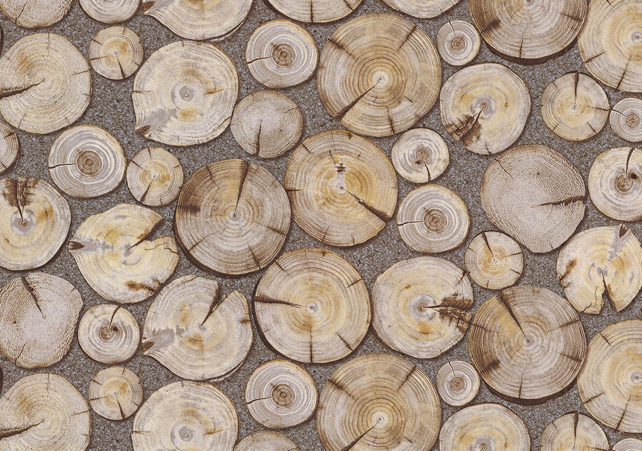Papel de Parede Terra Gracia Roundwood (Light Ash) 831141