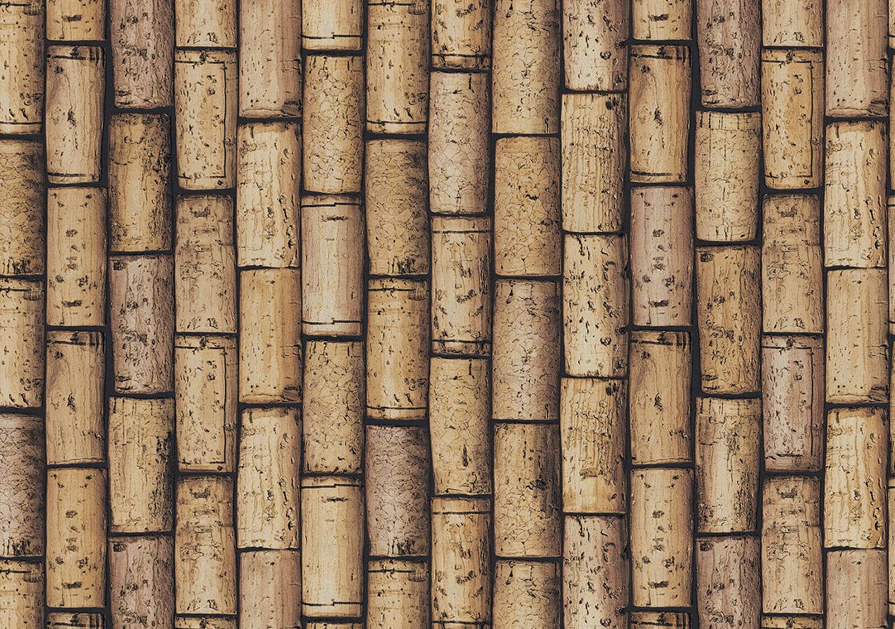 Papel de Parede Terra Gracia Cork Wall (Cork Yellow) 831202