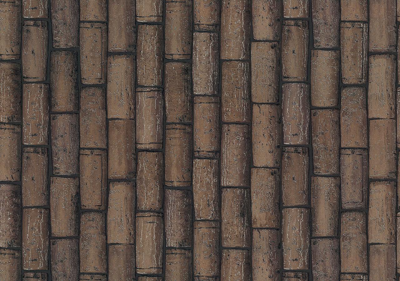 Papel de Parede Terra Gracia Cork Wall (Choco Ash) 831203