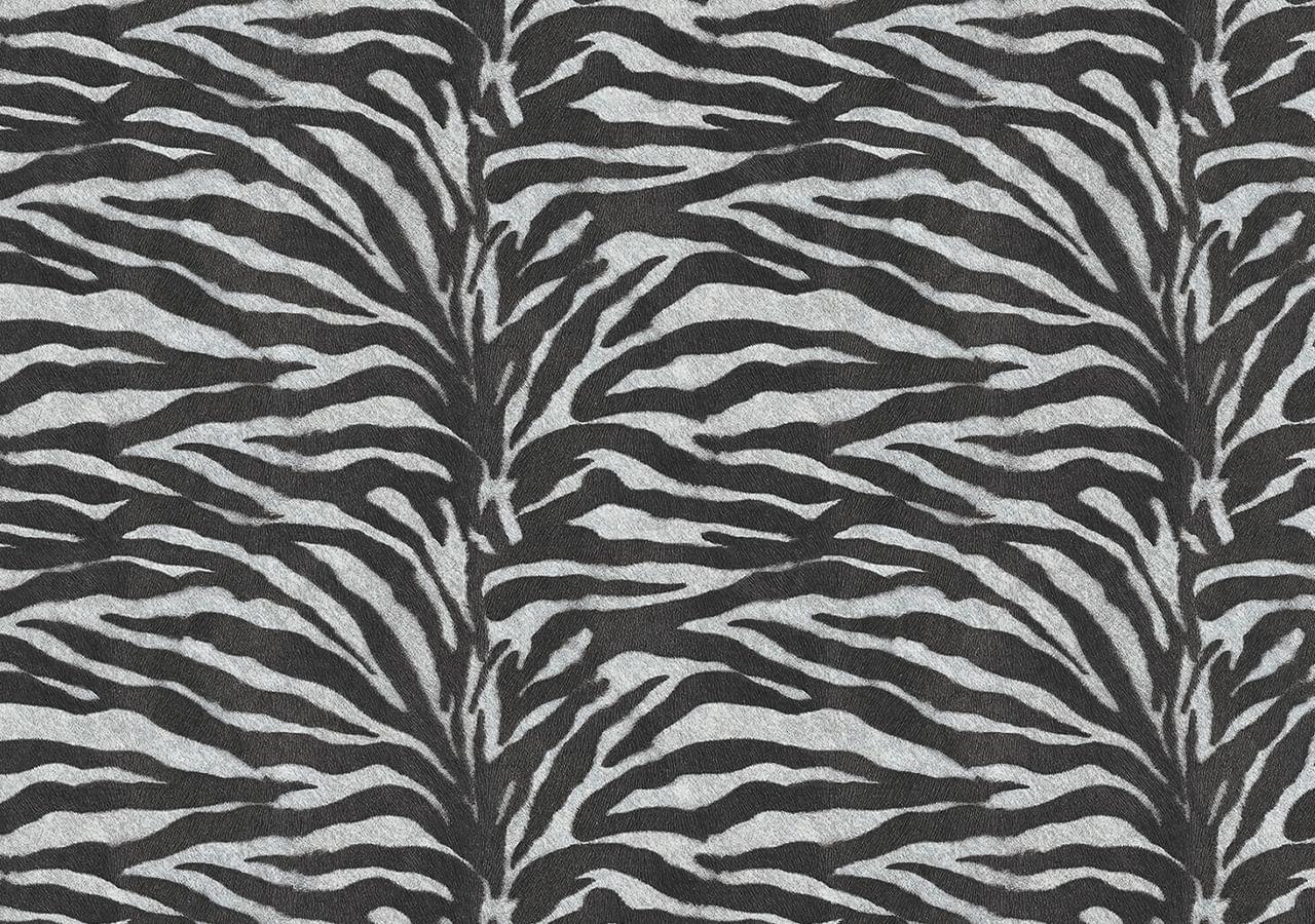 Papel de Parede Terra Gracia Zebra (Zebra Black) 831241