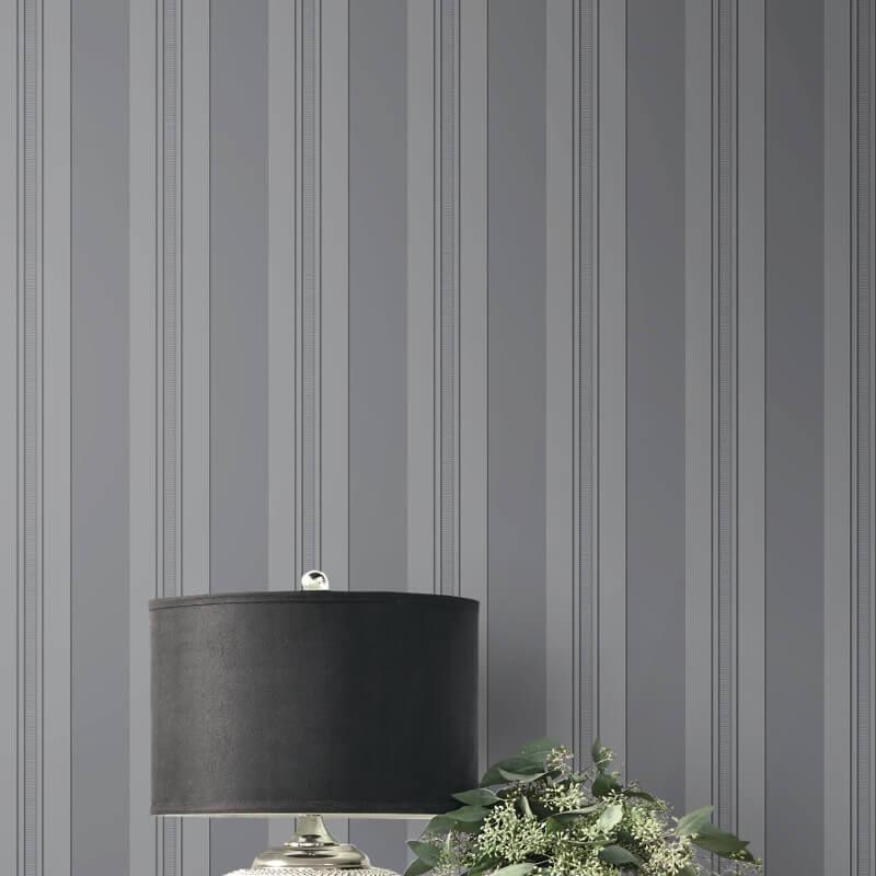 Papel de Parede Shimmer Listrado UK30912 - Rolo: 10m x 0,52m