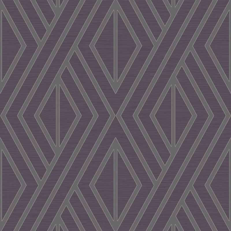 Papel de Parede Shimmer Geométrico UK30519 - Rolo: 10m x 0,52m