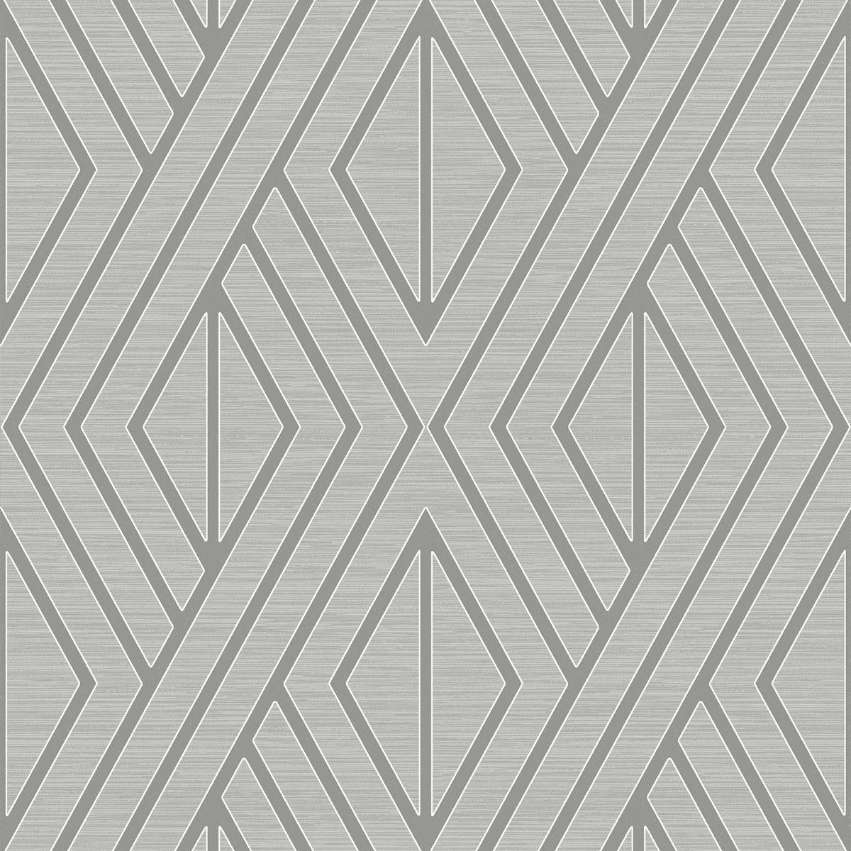 Papel de Parede Shimmer Geométrico UK30507 - Rolo: 10m x 0,52m