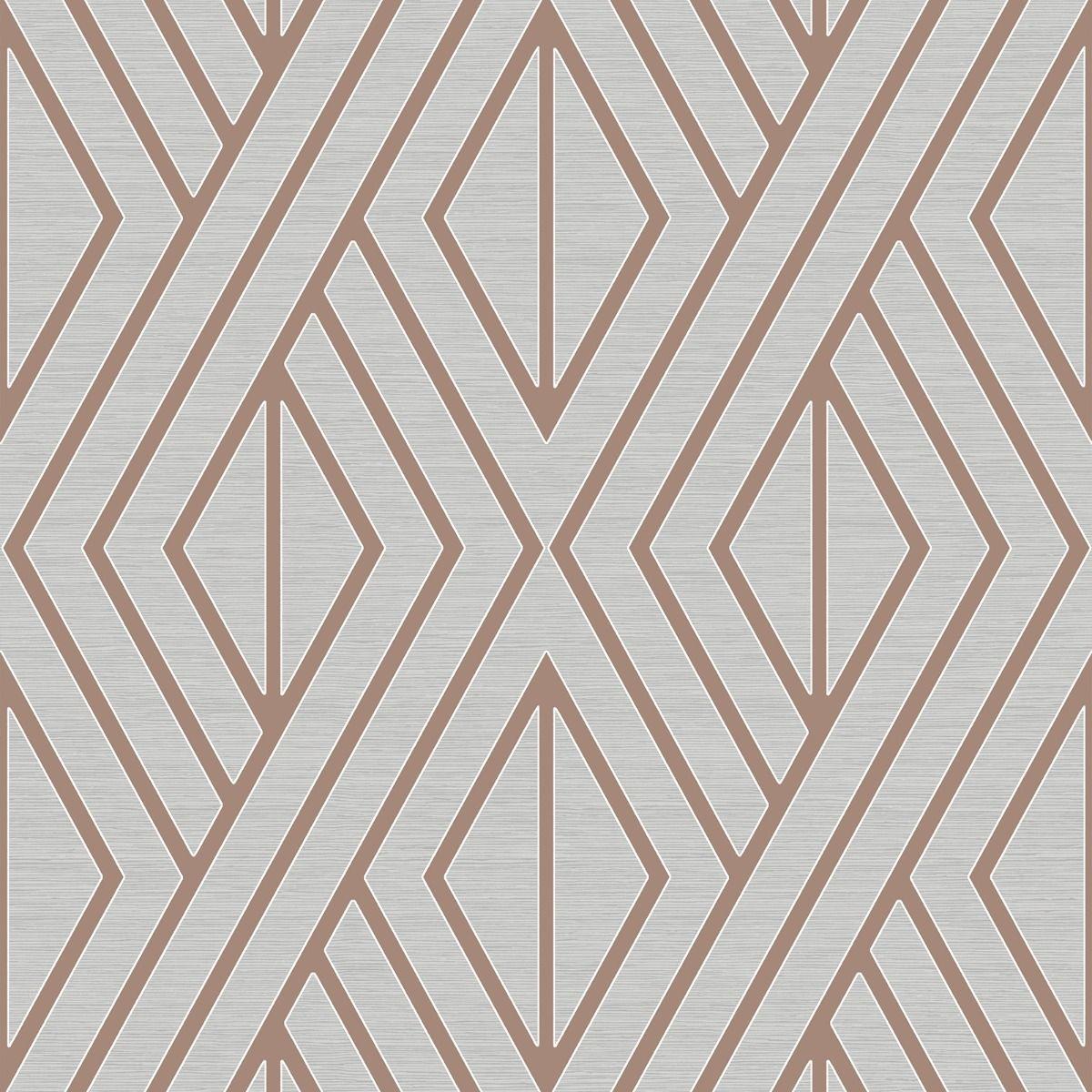 Papel de Parede Shimmer Geométrico UK30506 - Rolo: 10m x 0,52m