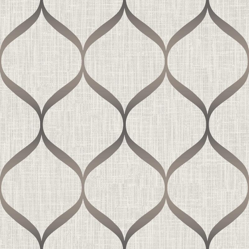 Papel de Parede Shimmer Fluidez Aspecto Têxtil UK21216 - Rolo: 10m x 0,52m