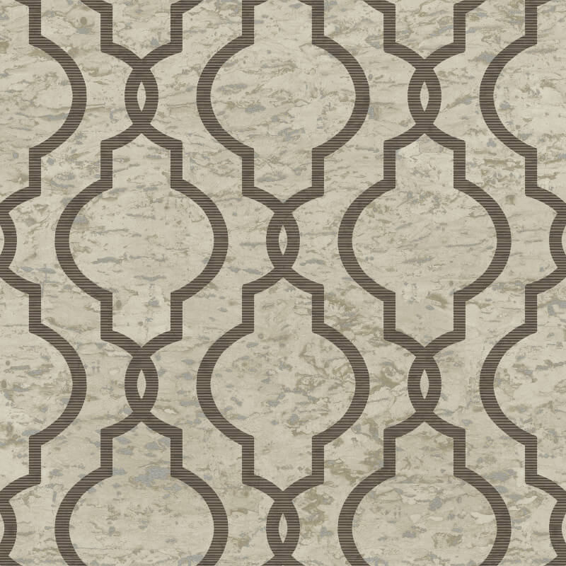 Papel de Parede Shimmer Geometria em Mármore UK20907 - Rolo: 10m x 0,52m