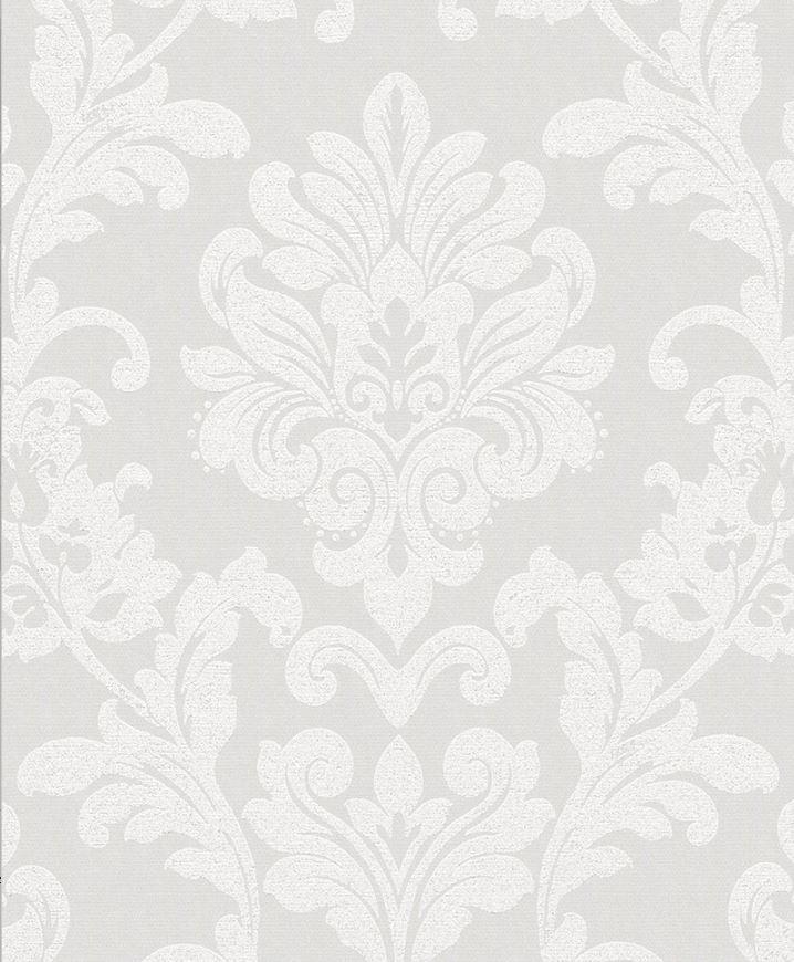 Papel de Parede Ella Damask Metálico 6762-10 - Rolo: 10m x 0,53m