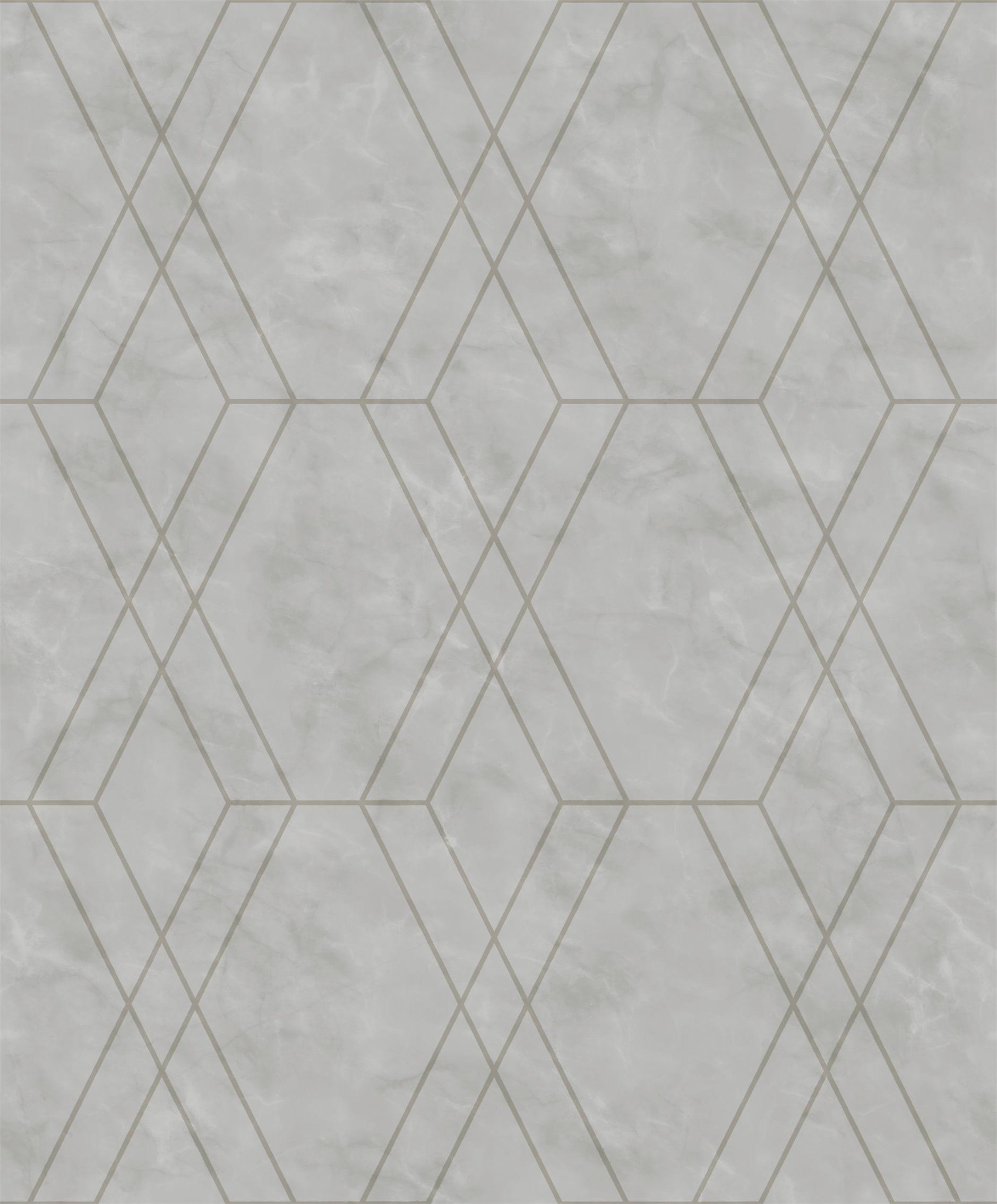 Papel de Parede Modern Maison Geometria em Mármore MM557705 - Rolo: 10m x 0,52m
