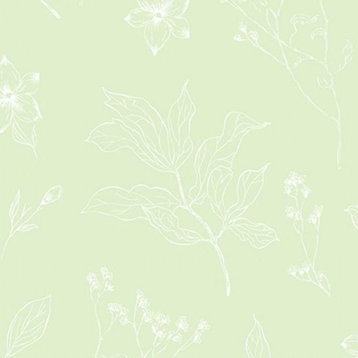 Papel de Parede YOYO Folhas e Flores YY222604K - Rolo: 10m x 0,53m