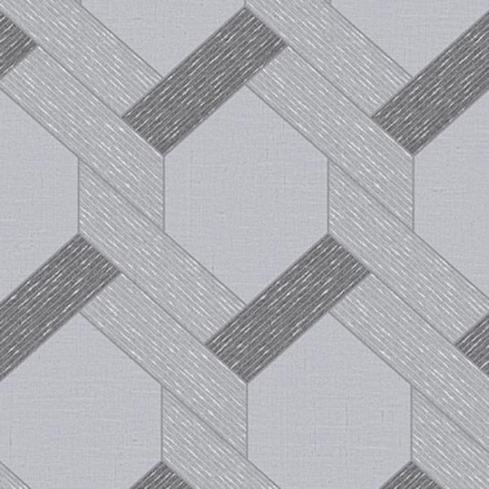 Papel de Parede YOYO Grade Geométrica YY221803R - Rolo: 10m x 0,53m