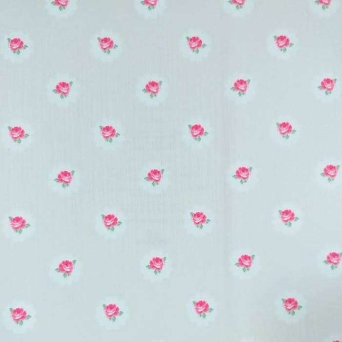 Papel de Parede Ola Baby 2 Pequenas Flores OB17 - Rolo: 10m x 0,53m