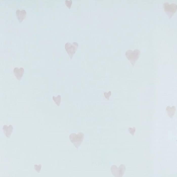 Papel de Parede Ola Baby 2 Pequenos Corações OB01 - Rolo: 10m x 0,53m