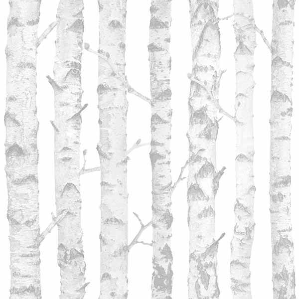 Papel de Parede Little Bandits Troncos de Árvore 145138944 - Rolo: 10m x 0,53m