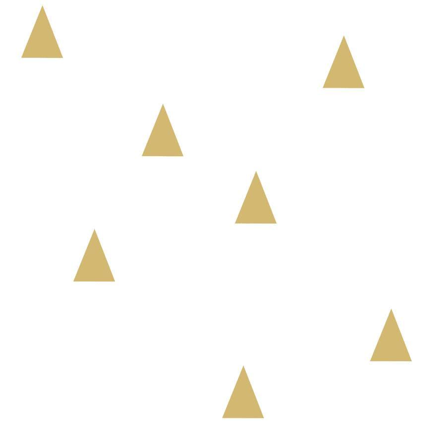 Papel de Parede Little Bandits Triângulos 145138943 - Rolo: 10m x 0,53m