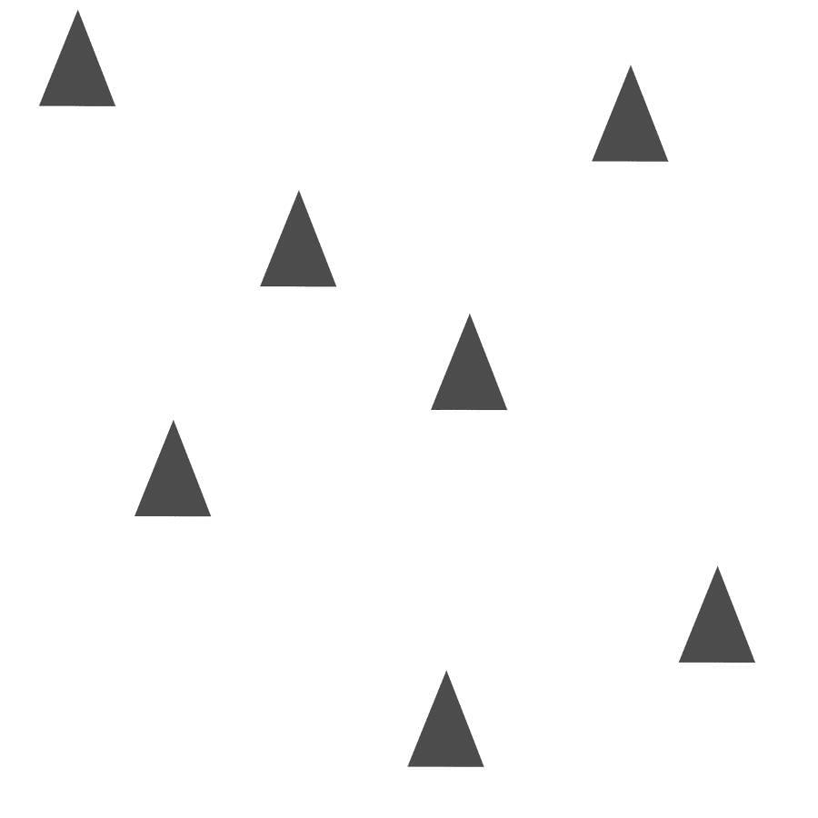 Papel de Parede Little Bandits Triângulos 145138942 - Rolo: 10m x 0,53m