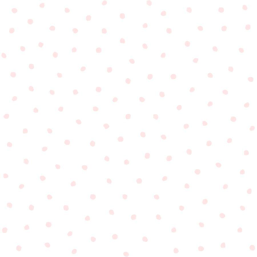 Papel de Parede Little Bandits Poá 145138936 - Rolo: 10m x 0,53m