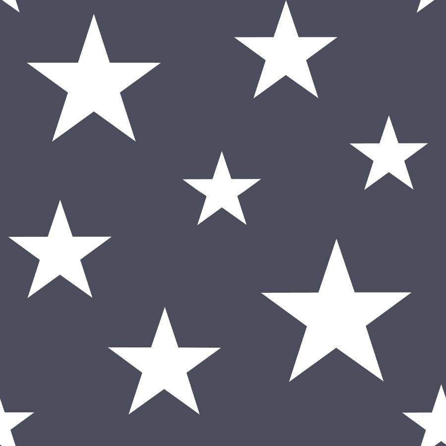 Papel de Parede Little Bandits Estrelas 145138933 - Rolo: 10m x 0,53m
