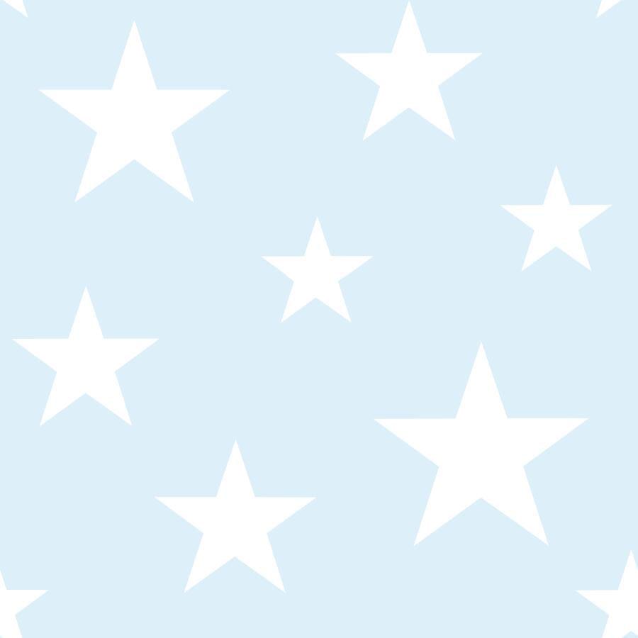 Papel de Parede Little Bandits Estrelas 145138932 - Rolo: 10m x 0,53m