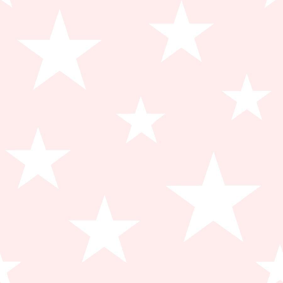 Papel de Parede Little Bandits Estrelas 145138931 - Rolo: 10m x 0,53m