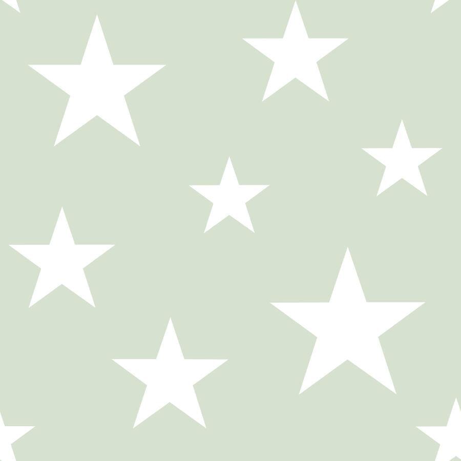 Papel de Parede Little Bandits Estrelas 145128865 - Rolo: 10m x 0,53m