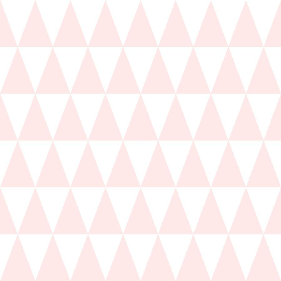 Papel de Parede Little Bandits Triângulos 145128862 - Rolo: 10m x 0,53m