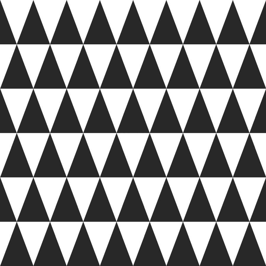 Papel de Parede Little Bandits Triângulos 145128845 - Rolo: 10m x 0,53m
