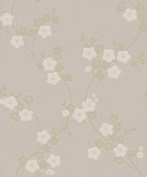 Papel de Parede Mido Floral 105032 - Rolo: 10m x 0,53m