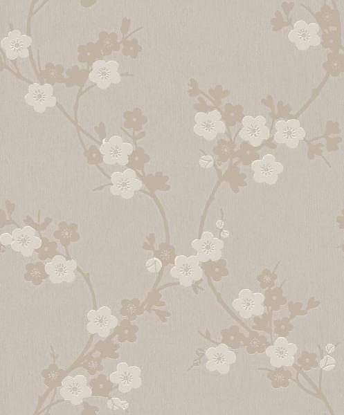 Papel de Parede Mido Floral 105031 - Rolo: 10m x 0,53m