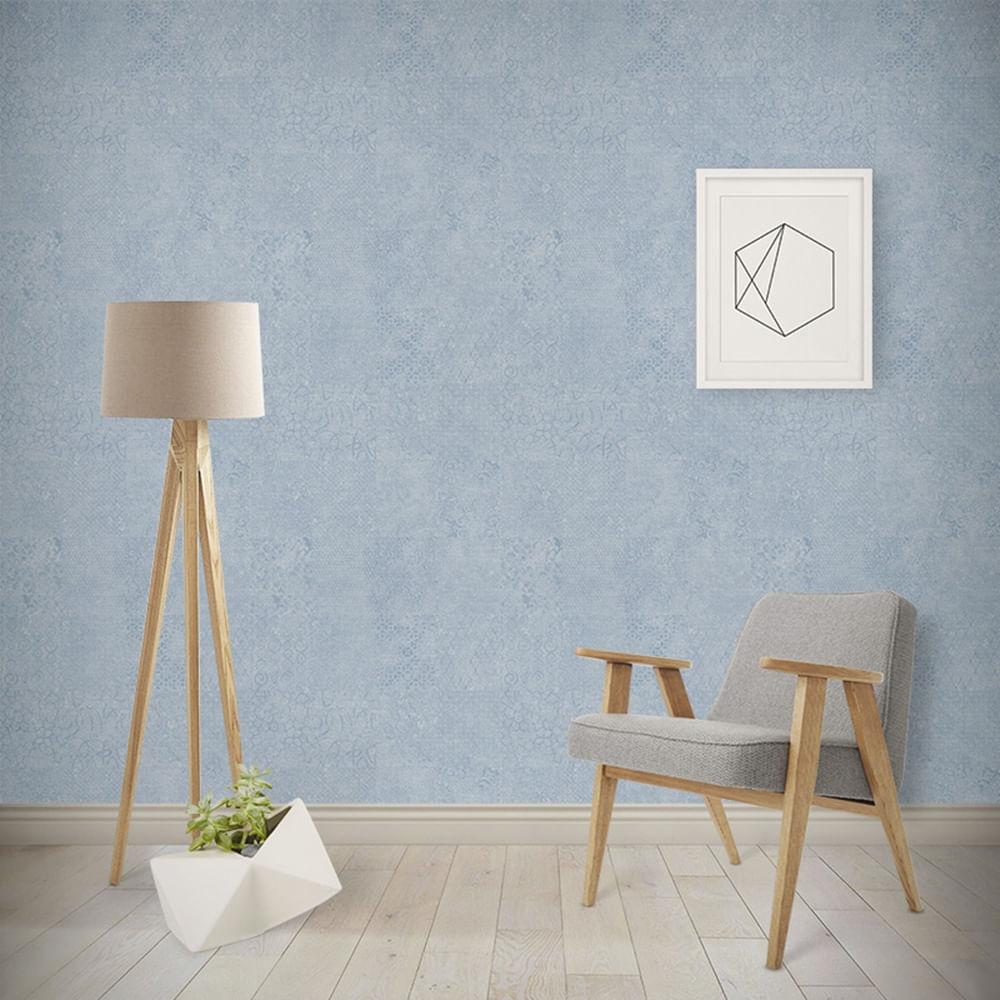Papel de Parede London Geométrico Abstrato PF9009 - Rolo: 10m x 0,53m