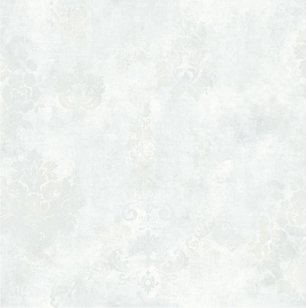 Papel de Parede London Damask Manchado AC6103 - Rolo: 10m x 0,53m