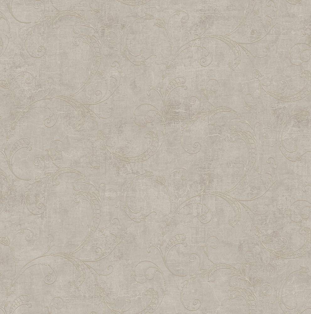 Papel de Parede London Arabesco AC3004 - Rolo: 10m x 0,53m