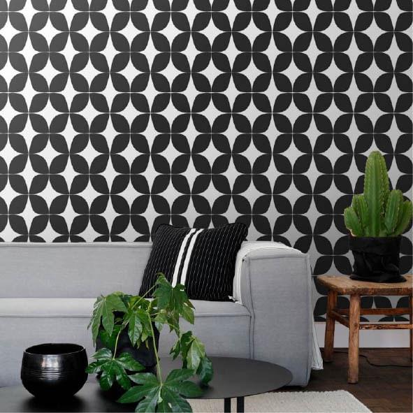 Papel de Parede Scandi Cool Formatos Geométricos 139101 - Rolo: 10m x 0,53m