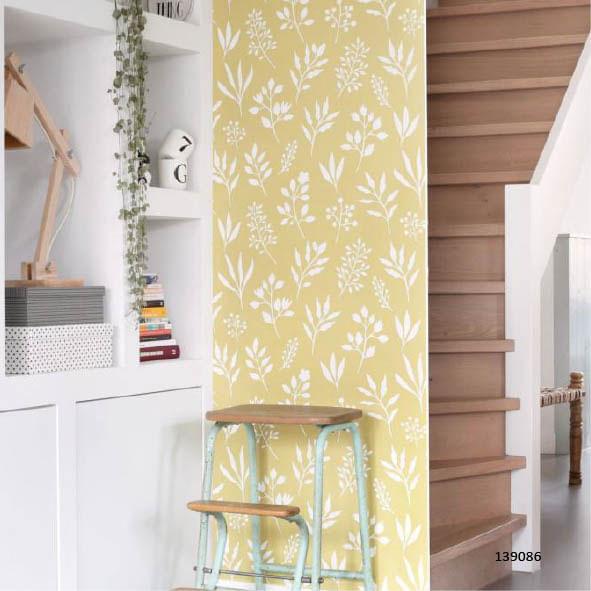 Papel de Parede Scandi Cool Floral 139086 - Rolo: 10m x 0,53m