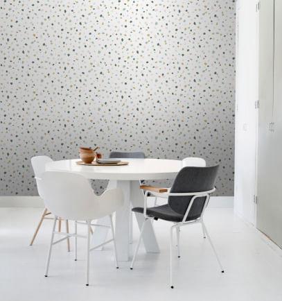 Papel de Parede Scandi Cool Granulado 139033 - Rolo: 10m x 0,53m