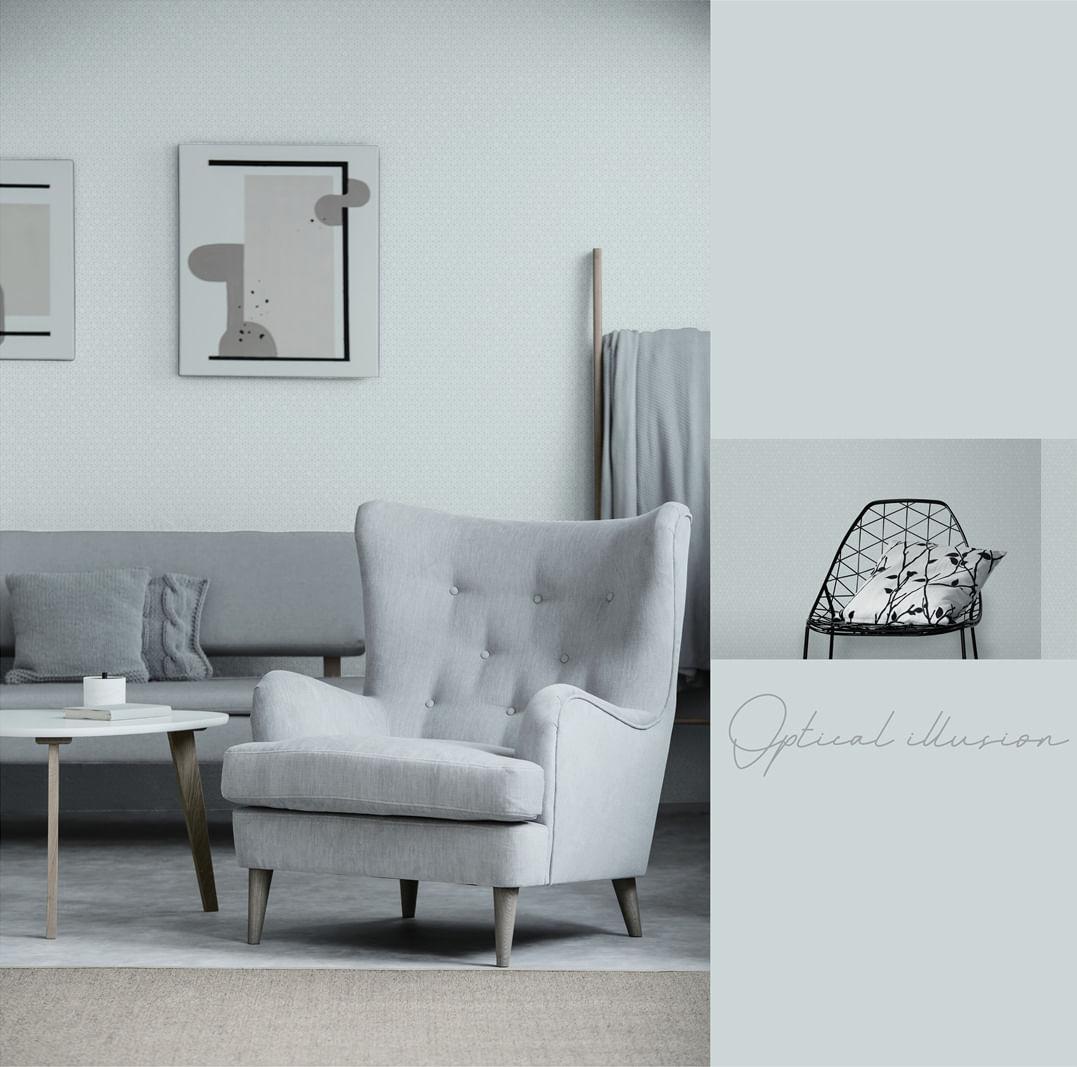 Papel de Parede Modern Maison Mini Geométrico MM558203 - Rolo: 10m x 0,52m