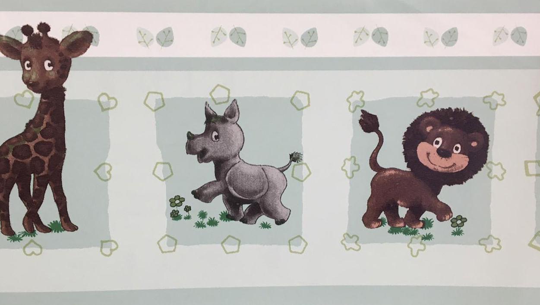 Faixa de Parede All Kids H2916401 - Tam 5m x 17,7cm (C x A)
