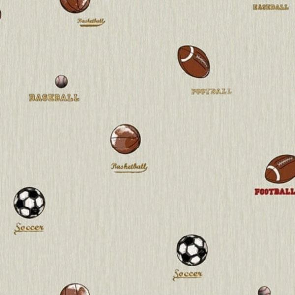 Papel de Parede All Kids Esportes H2910504 - Rolo: 10m x 0,53m