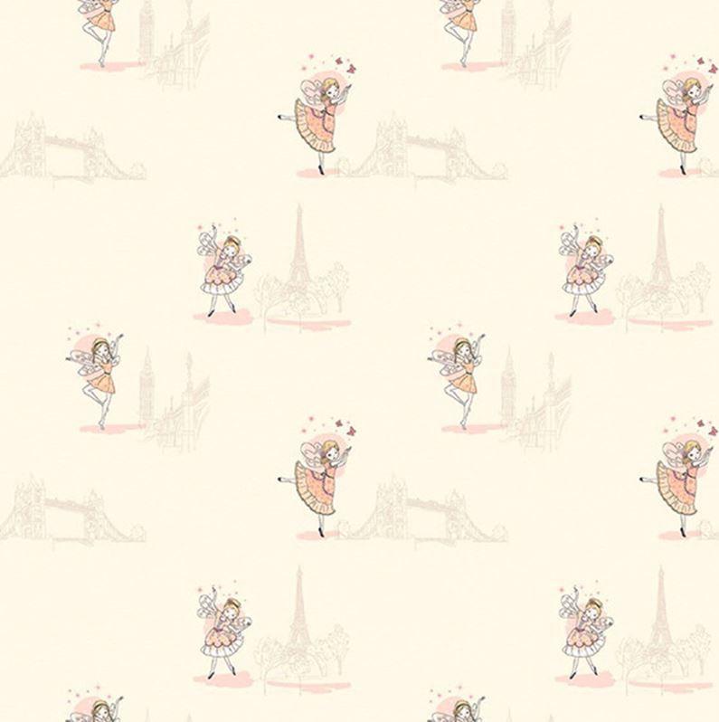 Papel de Parede All Kids Fadas H2911802 - Rolo: 10m x 0,53m